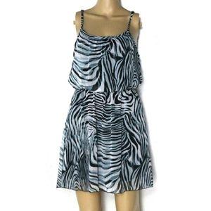 🐇Poetry S, Zebra Chiffon Mini